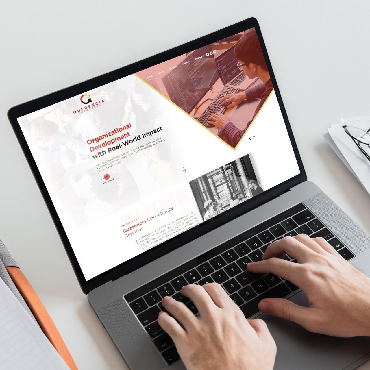 Website Designing for Querencia Consultancy in London, UK