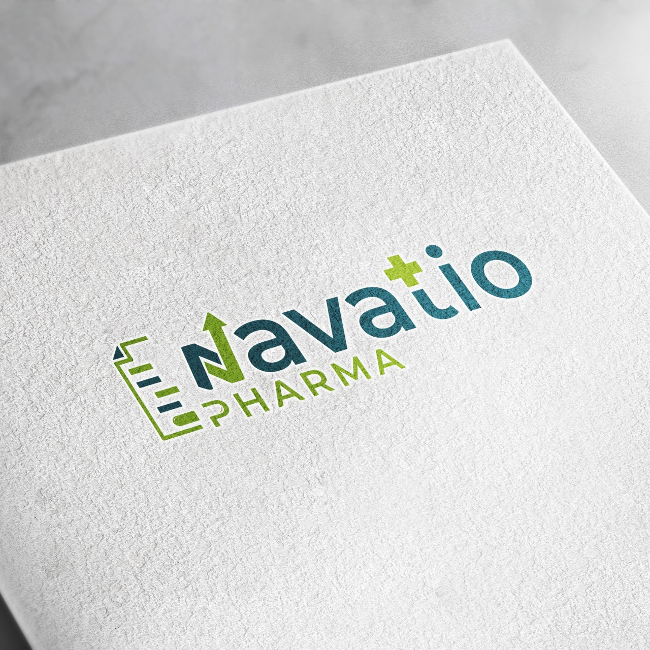 Logo Designing in Northampton for Navatio Pharma