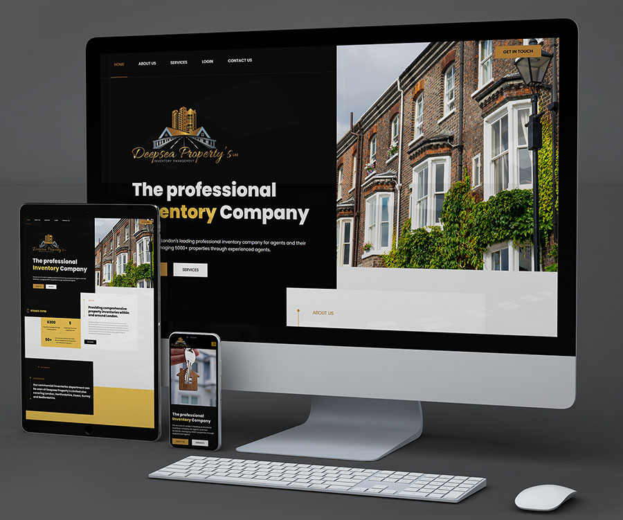 Deep Sea Property's LTD website design