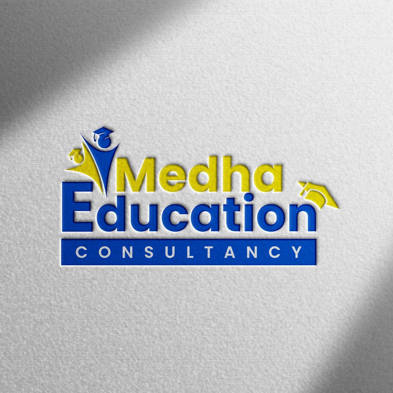 Logo Design Services for Medha Education Consultancy