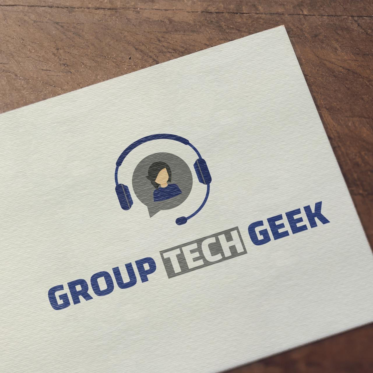 Logo Design for Group Tech Geek