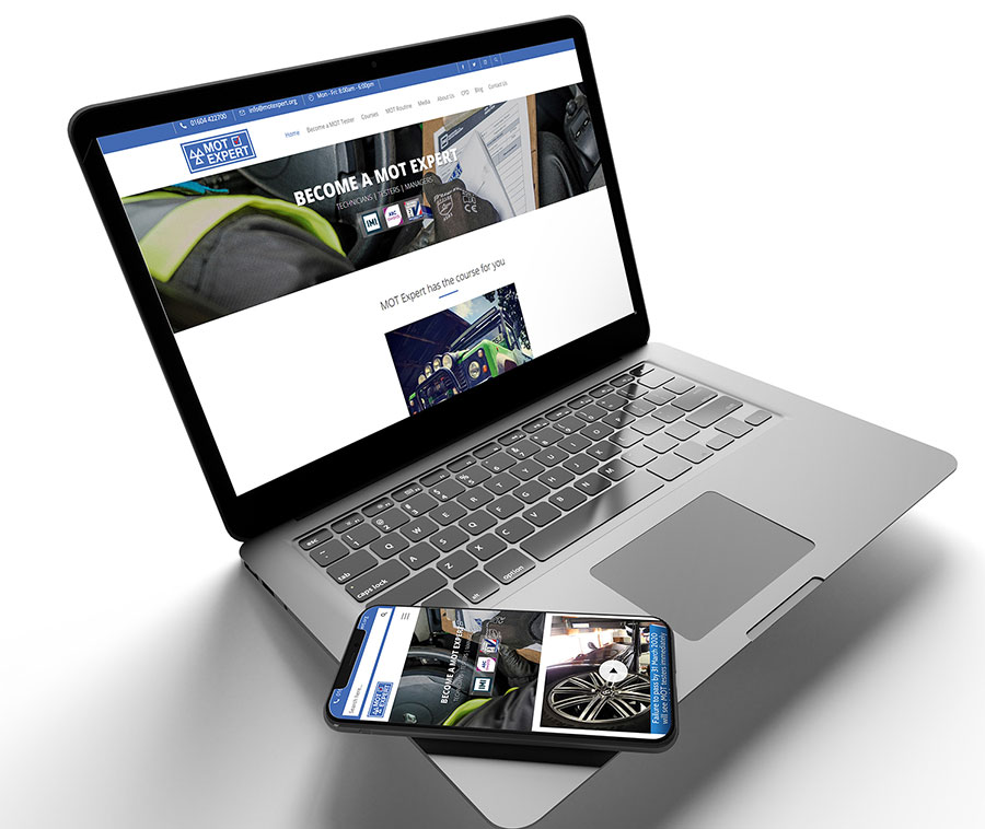 MOT Expert website design